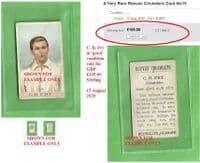 1912 Reeves Ltd.  Charles Burgess Fry - see comparison picture for higher price paid on EB!